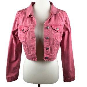 Jessica Simpson Pink Jean Jacket